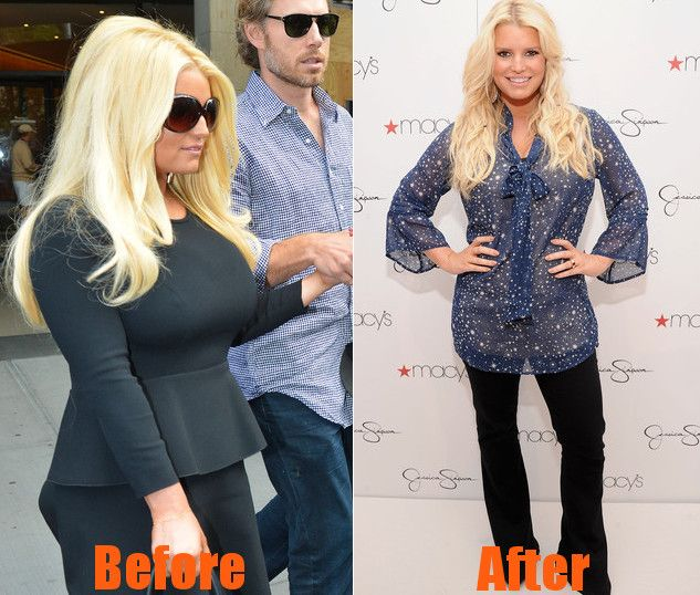 Jessica Simpson Keeps The Weight Off: Jessica Simpson Before And After Weight Loss