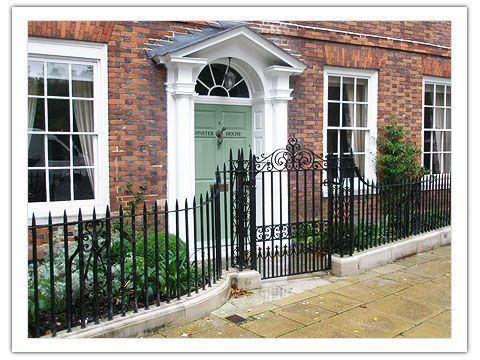 Wrought Iron Gates Railings Architectural Ironwork Antique