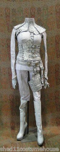 Legend of The Seeker Costume Denna White Mord Sith Costume   eBay
