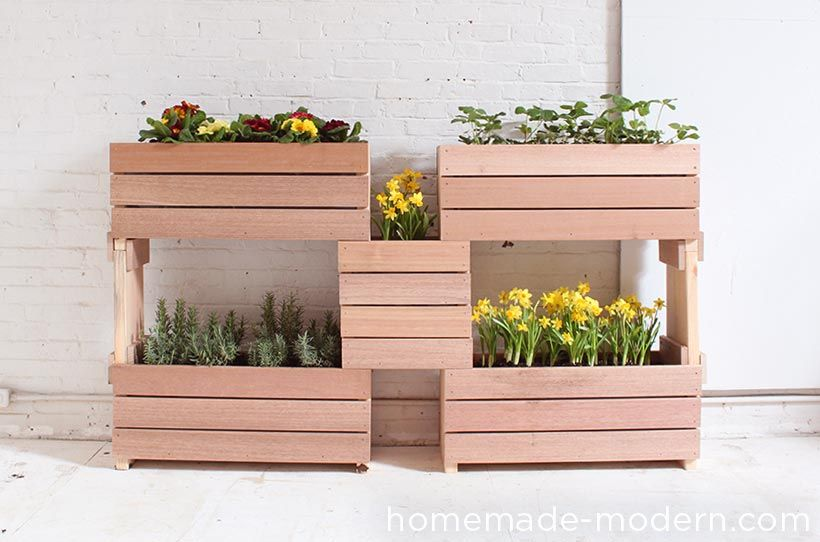 ep60 stackable planters homemade modern com stackable on easy diy woodworking projects to decor your home kinds of wooden planters id=87130