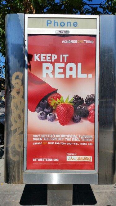 NYC Food Bank Ad #changeonething   Ads That Move Me/GLOBAL