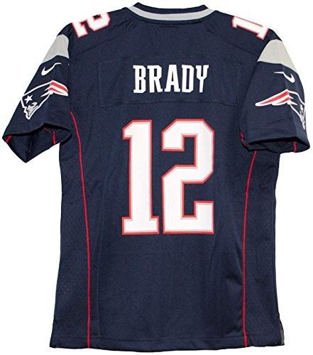 086b7957 Tom Brady New England Patriots Team Color Youth Nike Game Jersey ...