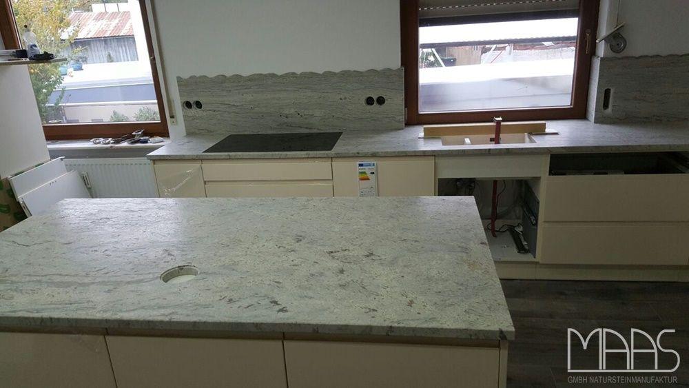 Juparana Bianco Granit Arbeitsplatten    wwwgranit - küchenarbeitsplatten online bestellen