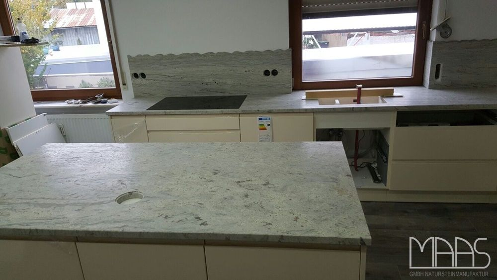 Juparana Bianco Granit Arbeitsplatten    wwwgranit - arbeitsplatten granit küche