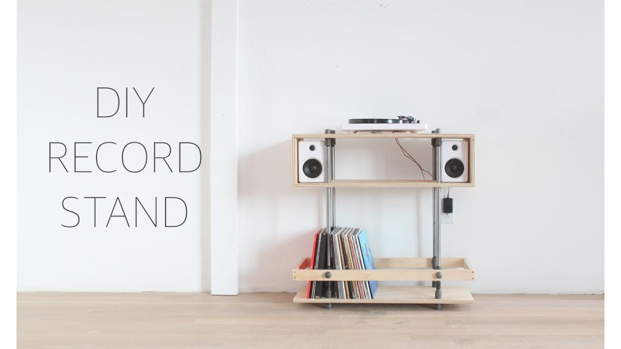 The Record Stand That I Build For My Very First Personal Record