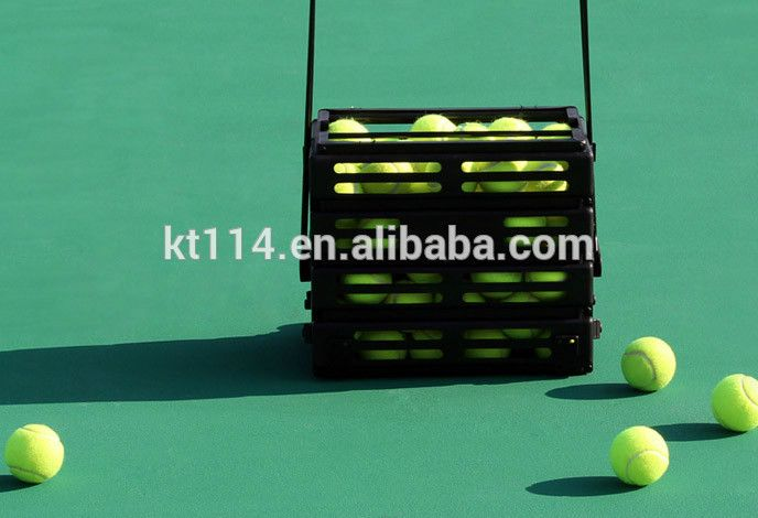 Super Strong Metal Tennis Ball Basket Tennis Basket Sports Tennis Ball Tennis Fun Sports