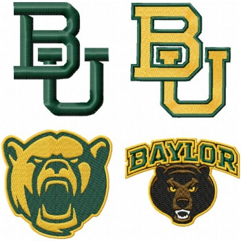 Embroidery Design For Instant Download Embroidery Designs Baylor Bears Logo Machine Embroidery Designs