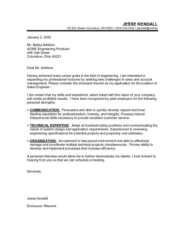 Career change cover letter sample job hunt pinterest for How to enclose resume to cover letter