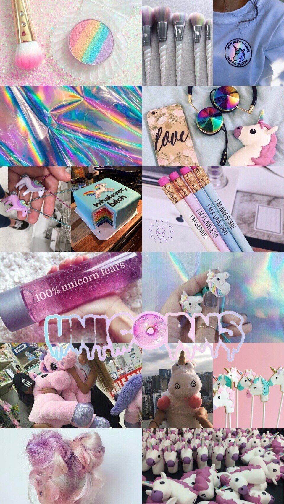 Unicorns Unicorn Wallpaper Aesthetic Pastel Wallpaper Cute Wallpapers