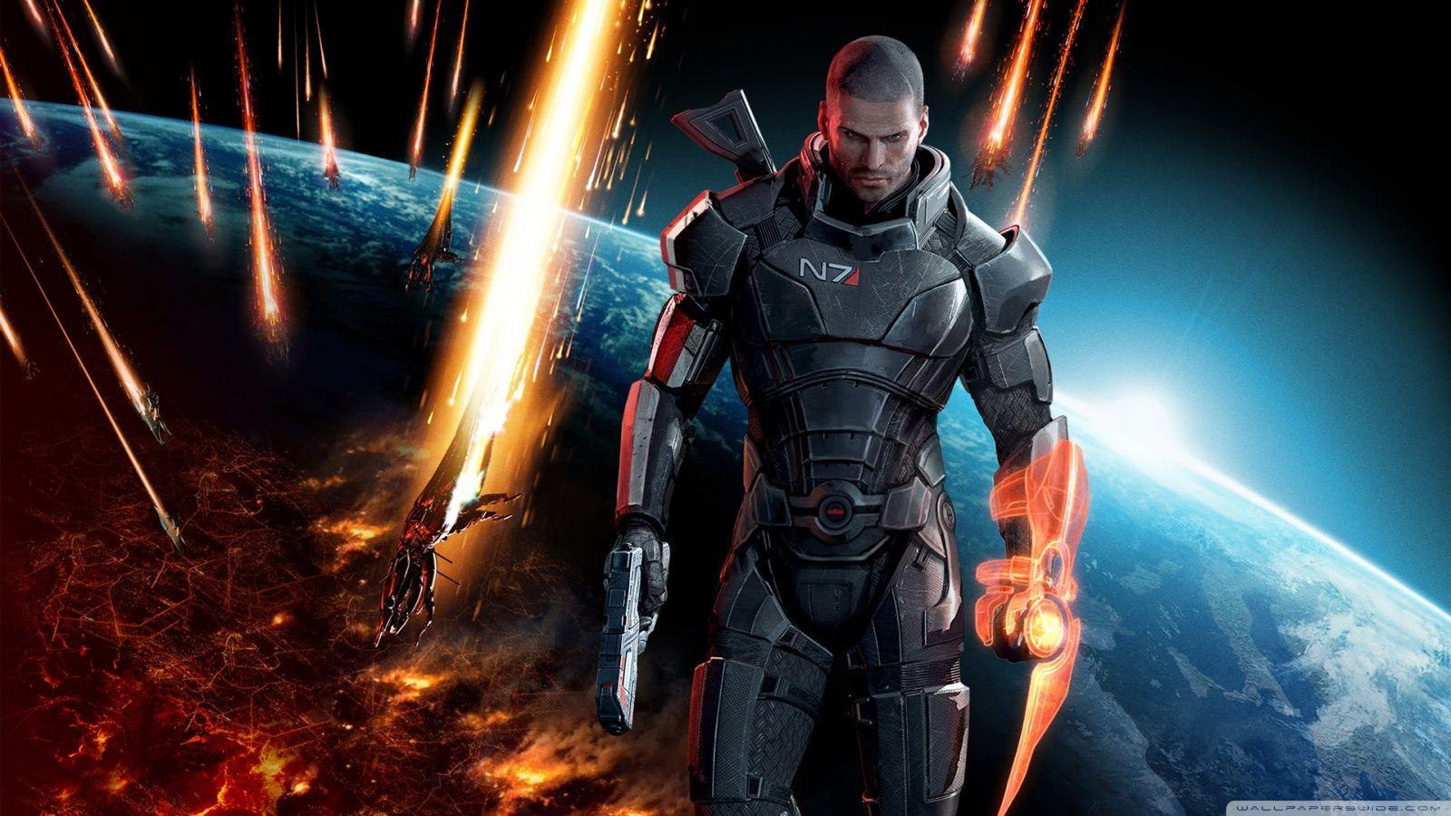 Mass Effect HD desktop wallpaper Widescreen High Definition