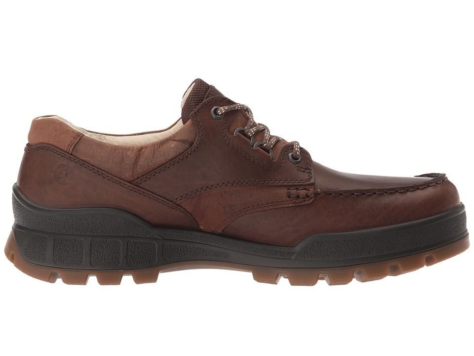 ECCO Track 25 Premium Low Men's Lace up casual Shoes Cocoa Brown/Camel