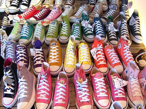 all colors of converse chuck taylors