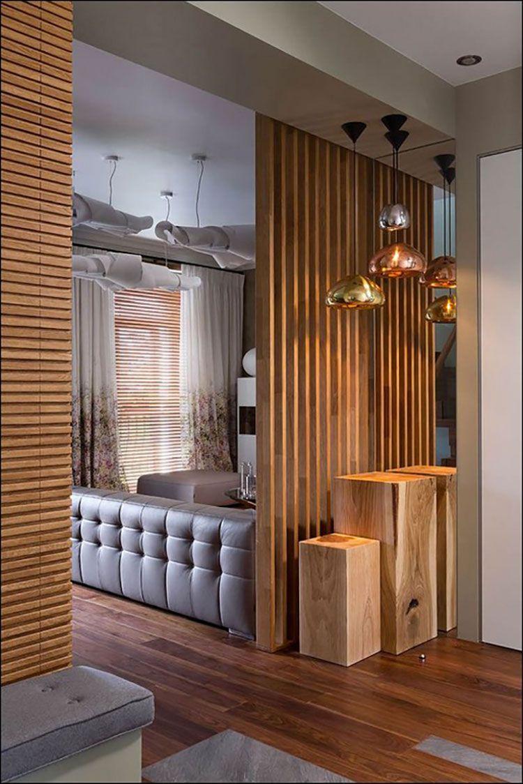 Parete Divisoria In Legno parete divisoria in legno 16 #roomdividerideas | living room
