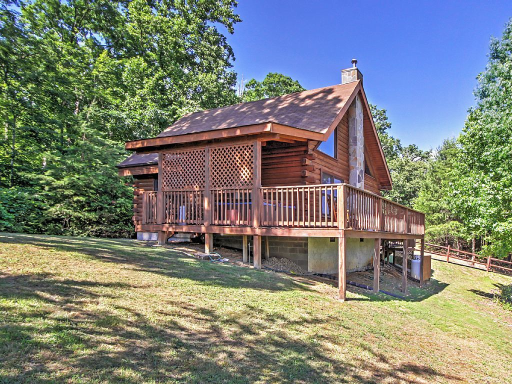 Charmant Cabin Vacation Rental In Pigeon Forge, TN, USA From VRBO.com! #