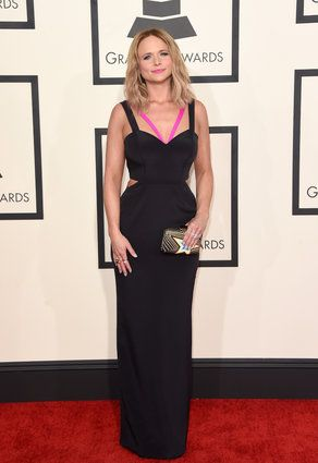 Miranda Lambert in Gabriela Cadena #GRAMMYs #Grammys2015 #GrammyAwards #GrammysRedCarpet