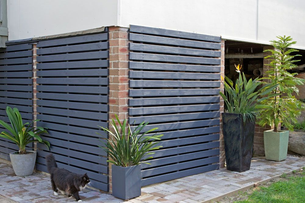 How to build a slatted timber screen in 2019 | Timber ...