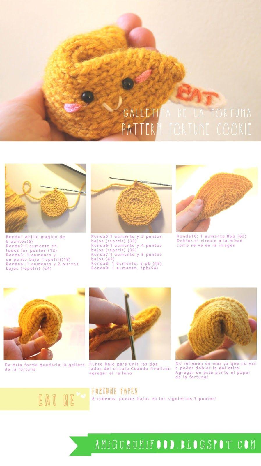 amigurumi food crochet free pattern animals patrones gratuitos ...