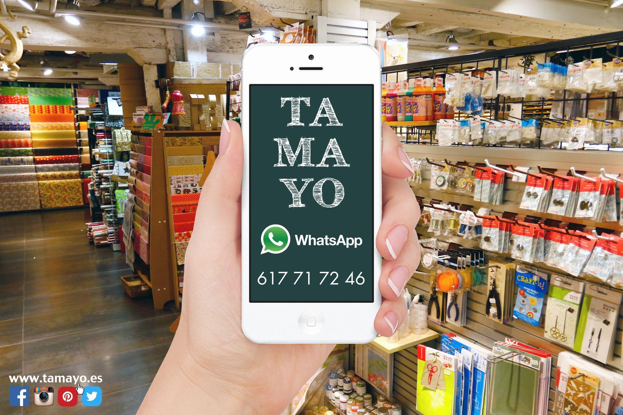Usas Whatsapp Nosotros También A Partir De Ahora Todo Tamayopapeleria En La Palma De Tu Mano Tus Dudas Consultas Pr Instagram San Sebastian Instagram Posts
