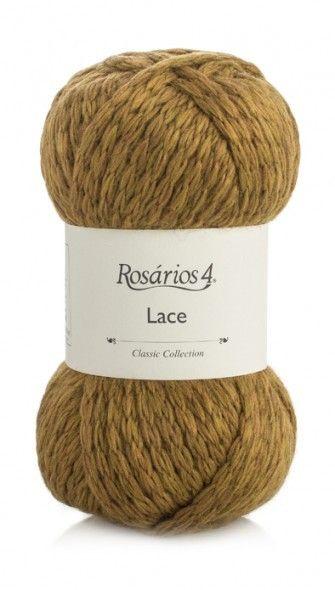 Lace: 50% Wool/Lã, 50% Acrylic/Acrílico