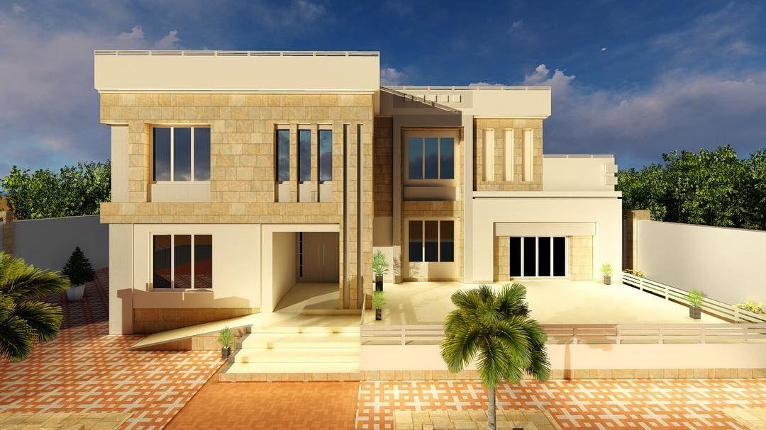 تصميم واجهات فلل مودرن 2020 مصمم واجهات House Styles House Mansions