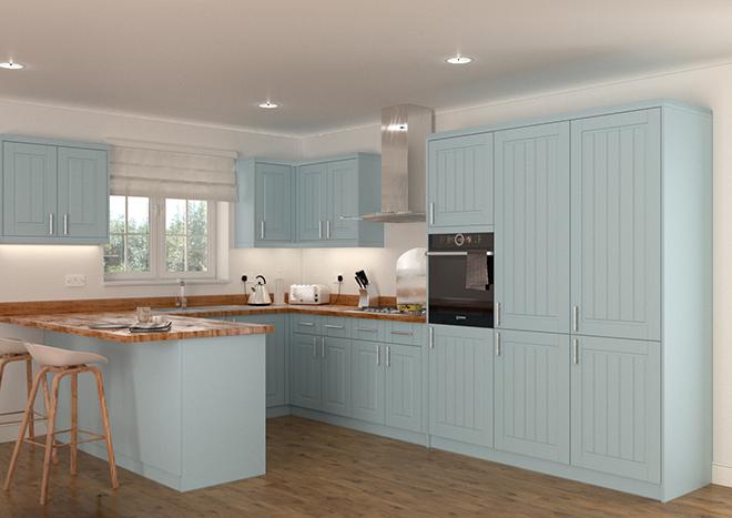 Storrington Denim Blue Kitchen Doors Cheap kitchen doors