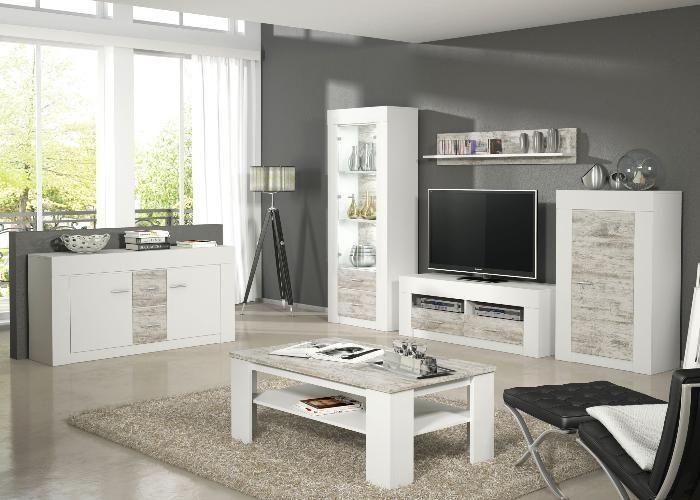 Wohnzimmer #komplett Charles Weiss, Pinie Dekor Wohnzimmer - wohnzimmer komplett weis