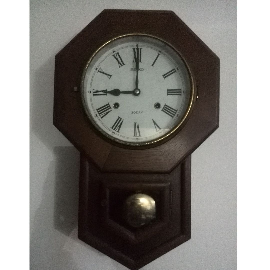 Vintage seiko wall clock images home wall decoration ideas vintage seiko pendulum wall clock 30 day working chimes with vintage seiko pendulum wall clock 30 amipublicfo Image collections