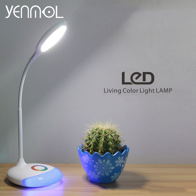 Yenmol Rechargeable Led Table Lamp Usb Touch Sensor Led Dimmable