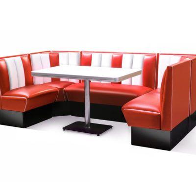 Best Bel Air Hollywood Corner Booth Set 130 X 210 Diner Booth Living Room Seating Booth Seating 400 x 300