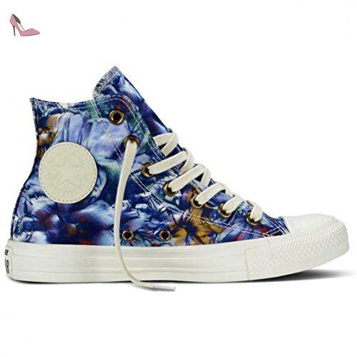 Converse Chuck Taylor Hi Canvas Graphic femmes, toile, sneaker high, 37 EU