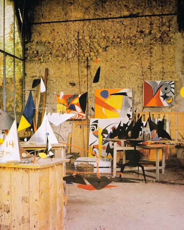 Alexander Calder's home studio – Paris, France