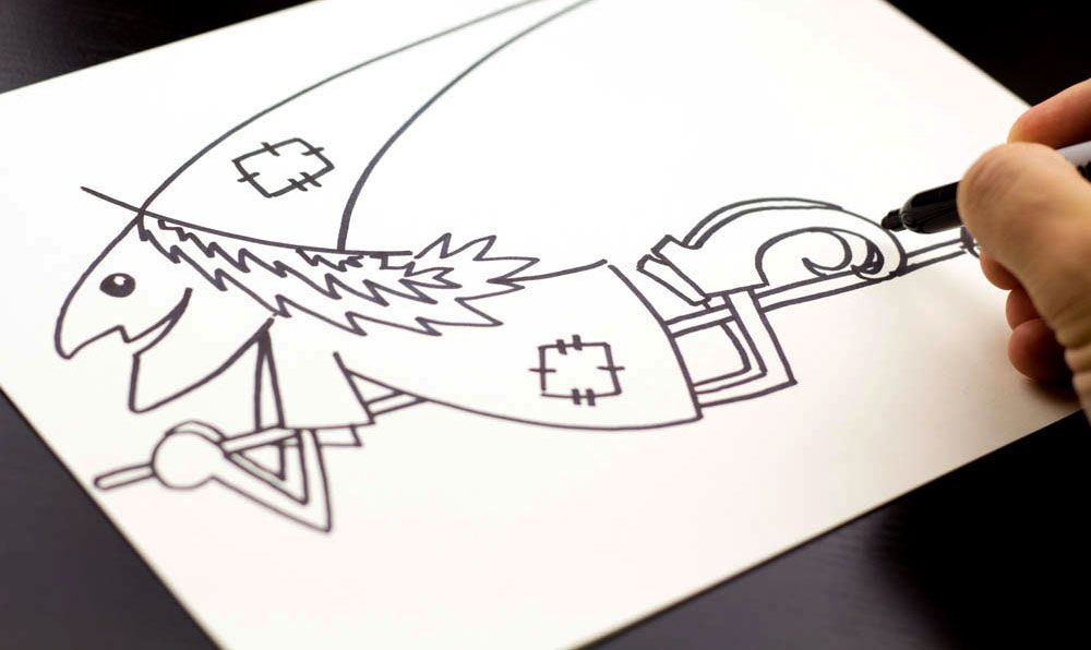 How To Draw A Witch Cutout Art For Kids Hub Art For