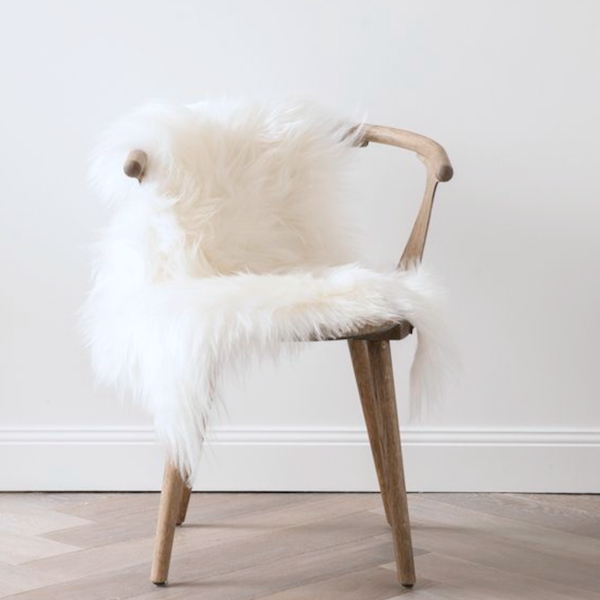 faux fur chair cover comfortable sitting chairs this white lush will add a touch of luxury to any free shipping australia wide fast worldwide get yours today