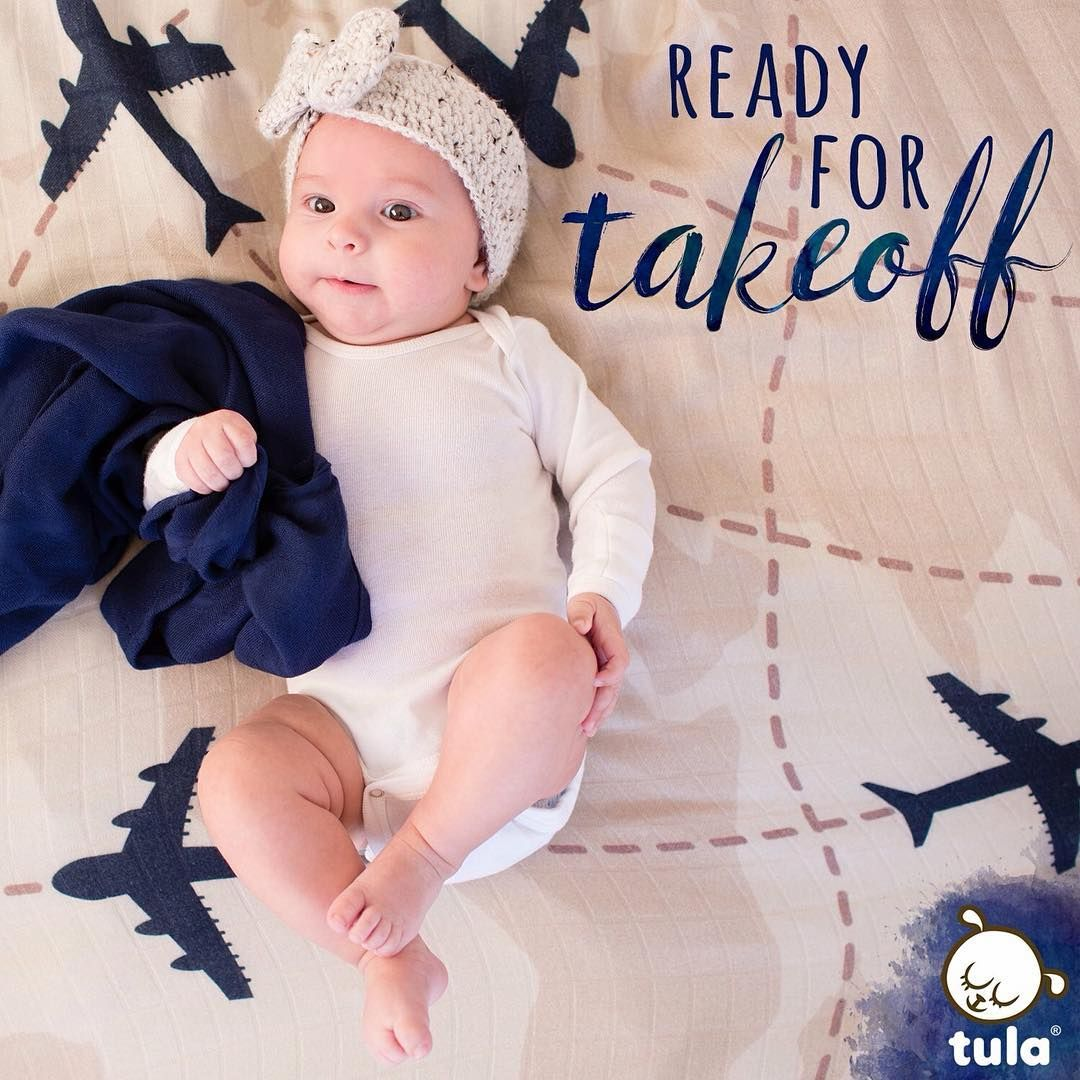 A perfect co-pilot to all your adventures! 'Aviator' has high flying airplanes darting east, west, north and south over a map-inspired design. Baby Tula's 'Aviator' baby blanket is perfect for any infant, baby or toddler. Tula Baby Blankets are cozy yet breathable for cuddles, swaddles or play.