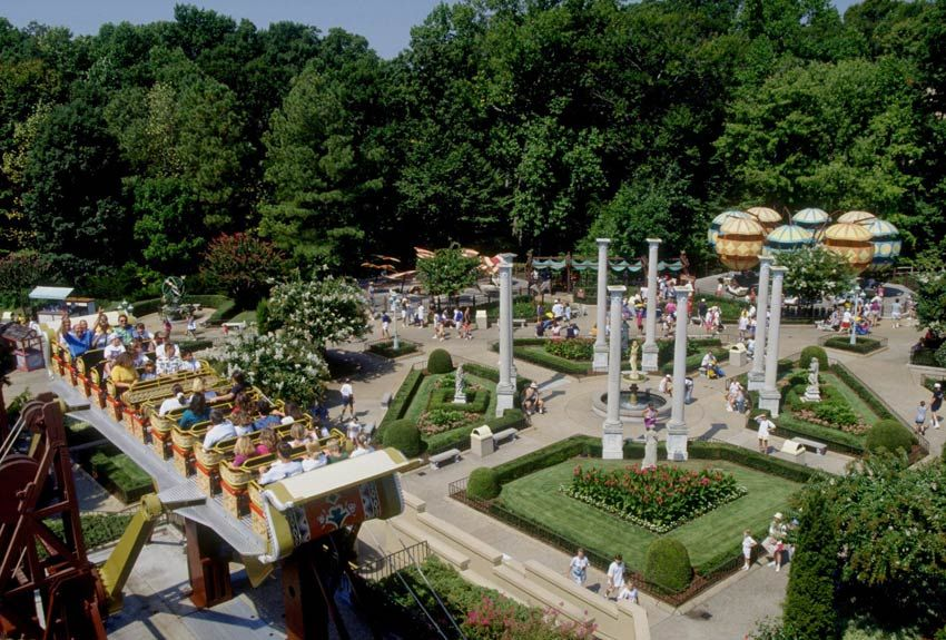db9e03e9b5cf3eba373e182169a00200 - Da Vinci's Cradle Busch Gardens Williamsburg