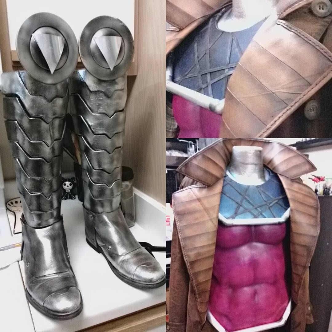 gambit cosplay 2 & Hey there! Iu0027m going to be making a Gambit (Marvel X-Men) costume ...