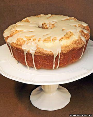 Pound Cake with Maple Glaze