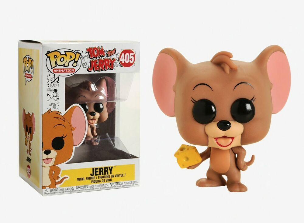 Tom and Jerry Funko Pop Animation Jerry Vinyl Figure Item #32166