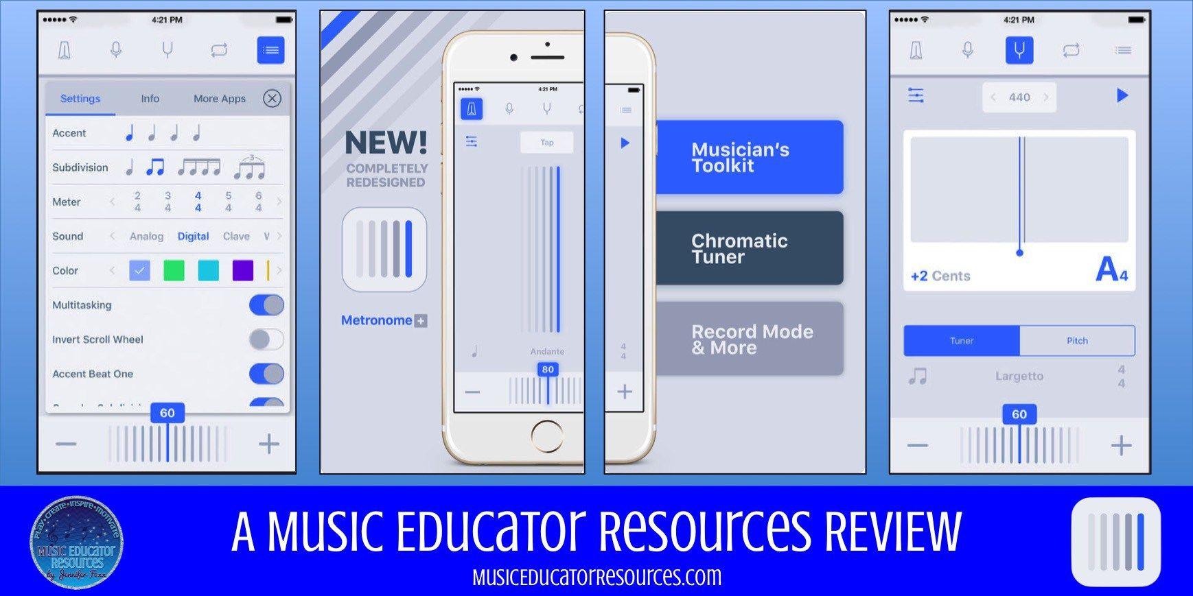 Review Metronome+ App Metronome, Music technology