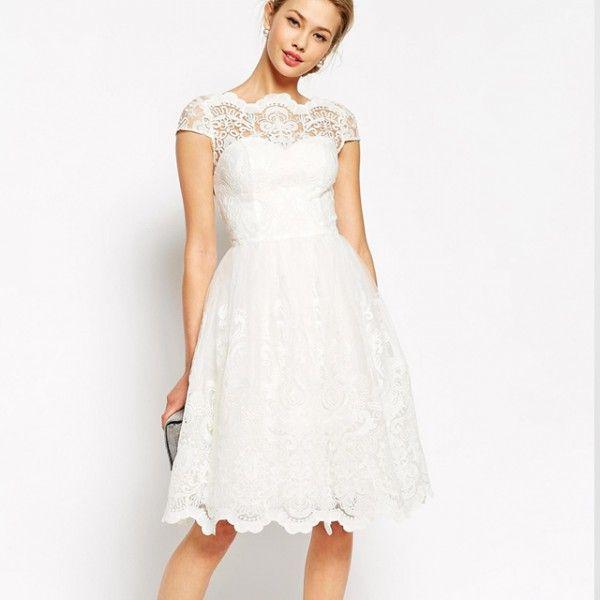 10 robes de mariées courtes pour votre mariage civil | Robe