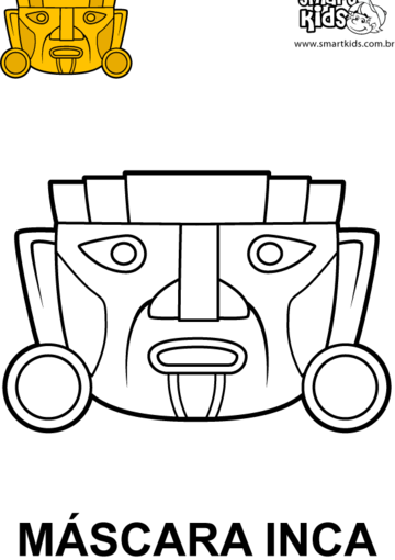 Máscara Inca! | Aztecas | Pinterest | Inca, Máscaras y Mascaras