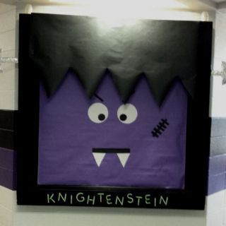 October Bulletin board at school!!! Idea came from the green and black Frankenstein door..... We are the MSA Knights so we have a knightenstein!! #octoberbulletinboards October Bulletin board at school!!! Idea came from the green and black Frankenstein door..... We are the MSA Knights so we have a knightenstein!! #octoberbulletinboards October Bulletin board at school!!! Idea came from the green and black Frankenstein door..... We are the MSA Knights so we have a knightenstein!! #octoberbulletin #octoberbulletinboards