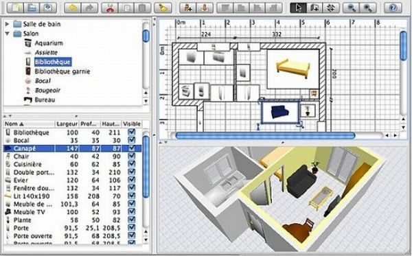 10 best interior design software or tools on the web for Building interior design software