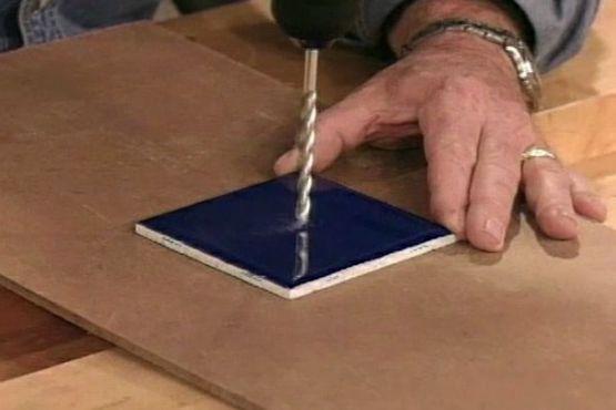 How To Drill Into Ceramic Tile Ceramic Tile Crafts Ceramic Tiles Tile Crafts