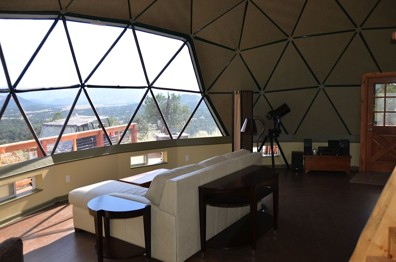 Charmant This Is A Great Example Of A Bay Window In A Living Dome. This Can · Geodesic  Dome HomesHome ...