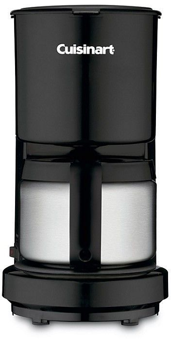 Cuisinart 4 Cup Thermal Coffee Maker Black 4 Cup Coffee Maker Thermal Coffee Maker Coffee Maker