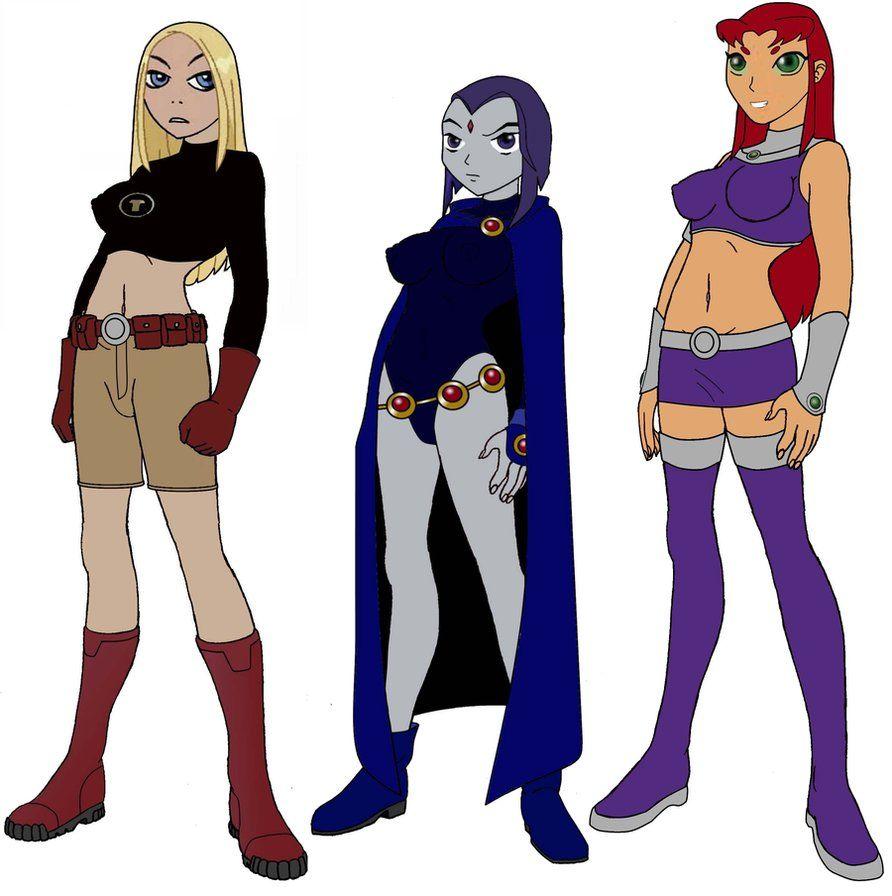 Wild Xxx Hardcore  Teen Titans Starfire-2121