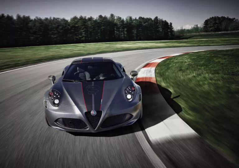 Alfa Romeo 4C Competizione 10 esemplari dell'ultima serie