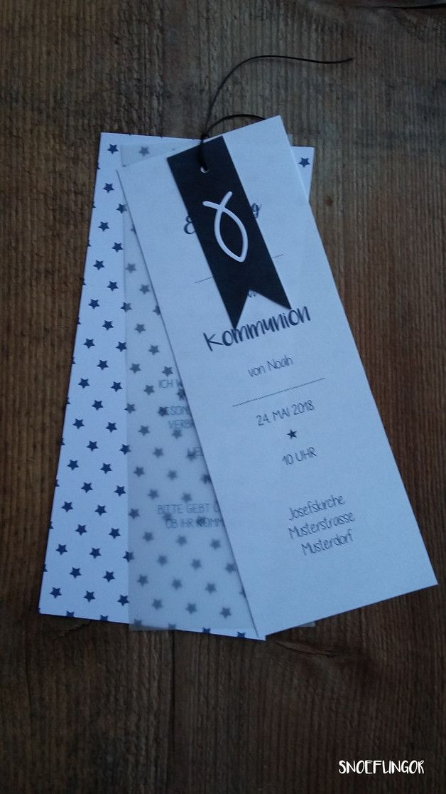 schöne einladungskarte. grösse 20 x 9 cm die karte letzte