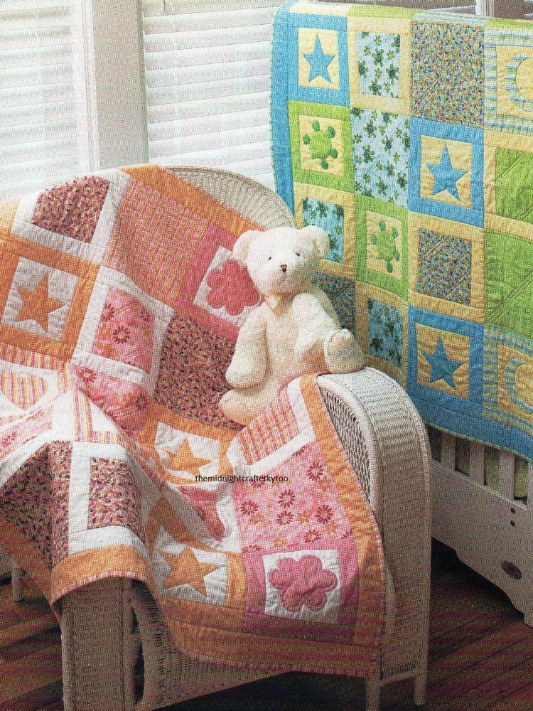 Hopscotch Quilt Pattern Pieced/Applique MH   Baby Quilts ... : hopscotch quilt pattern - Adamdwight.com